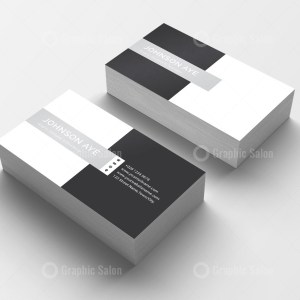 Checkered Visiting Card Templates