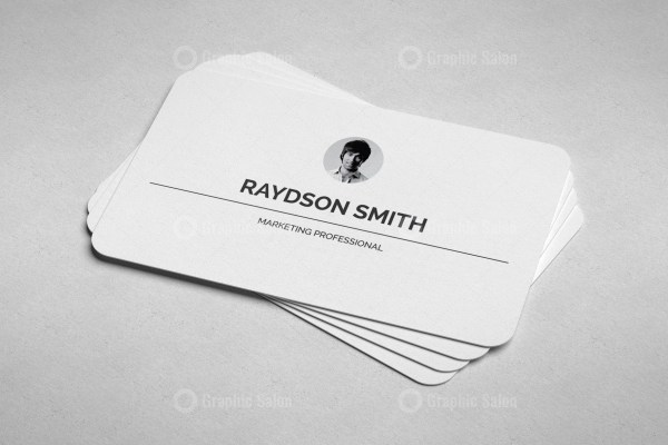 Minimalist Visiting Card Templates 3