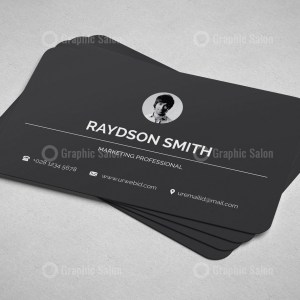 Minimalist Visiting Card Templates