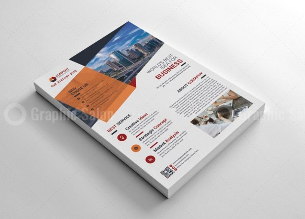 Modern Print Flyers Template 5