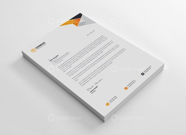Clean Letterheads Design