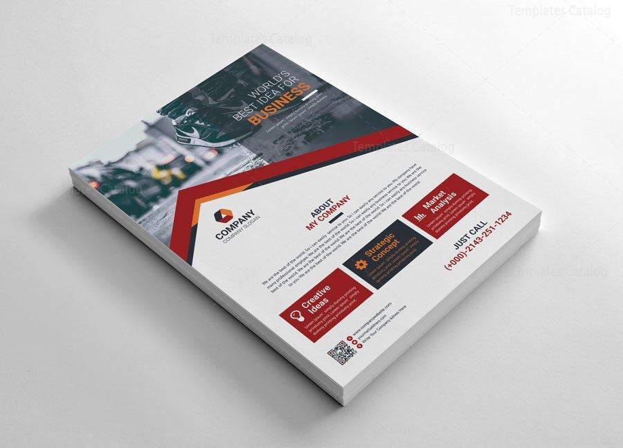 Concept Creative Flyers Design - Graphic Templates