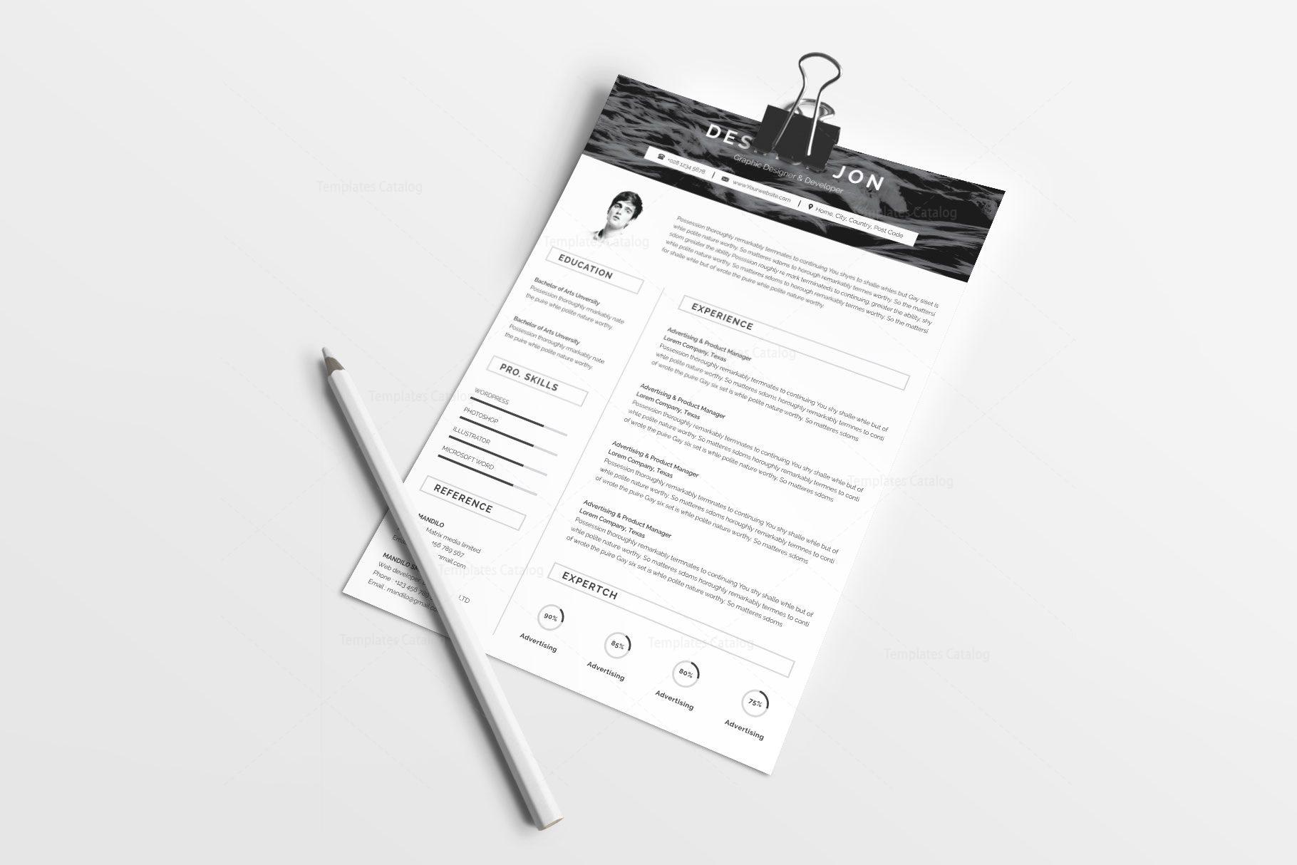 Simple Resume Design