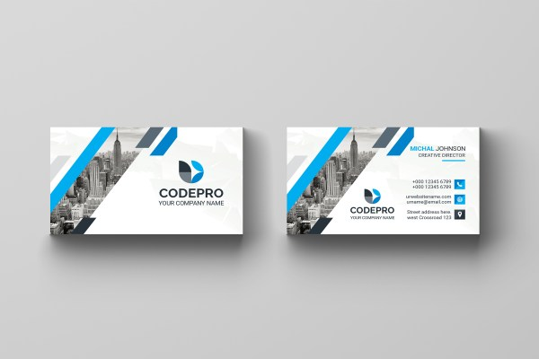 Creative PSD Business Card