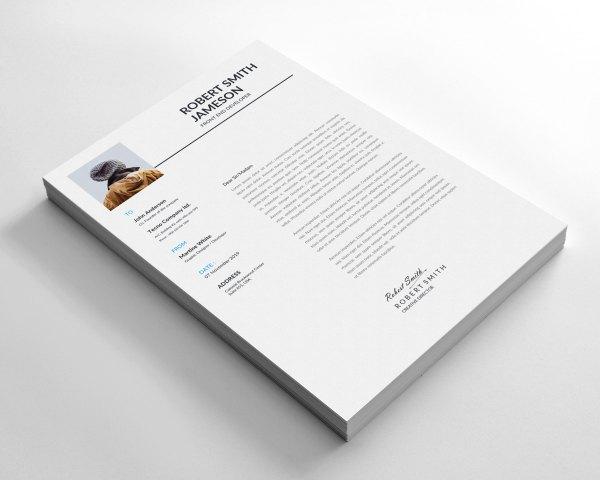 Minimalist Resume Design Template