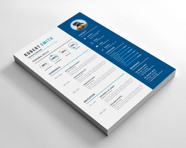 Printable Creative Resume Design