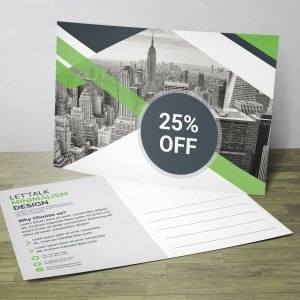 Business PSD Postcard Design Templates