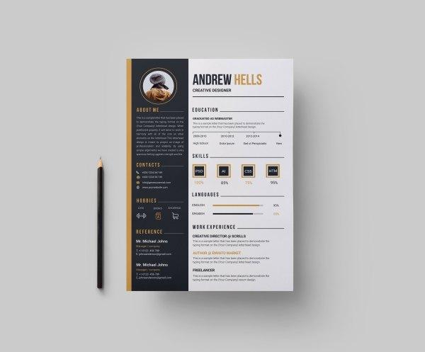 Coffee CV Design Template