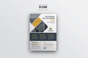 Stylish PSD Flyer Templates