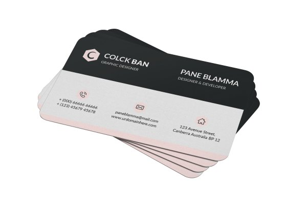 Classy Visit Card Templates