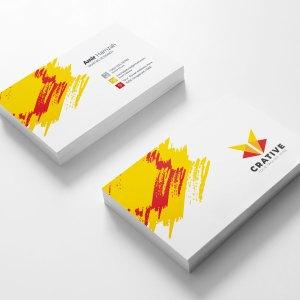 Creative Visit Card Template