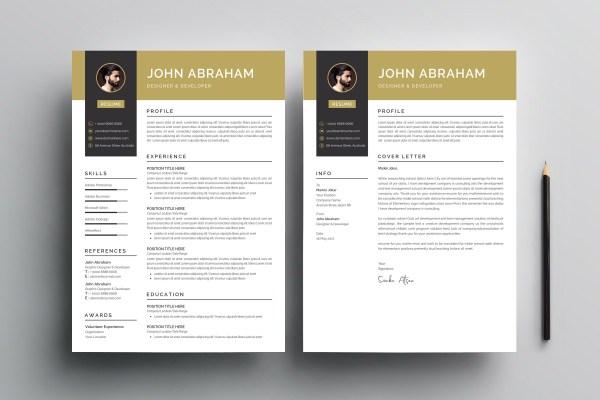 Elegant Print Resume Template