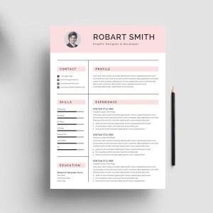 Professional Print Resume Template