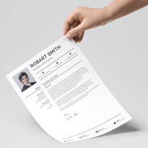 Simple Print Resume Template