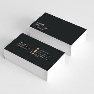 Simplistic Visit Card Templates