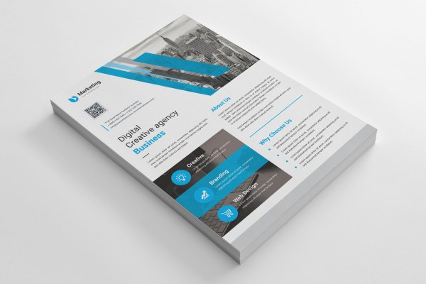 A4 PSD Flyer Design
