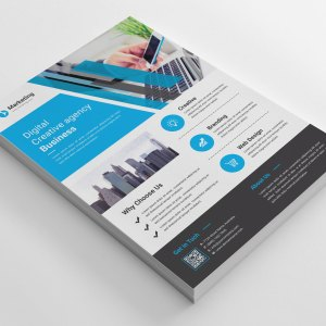 A4 PSD Flyer Templates