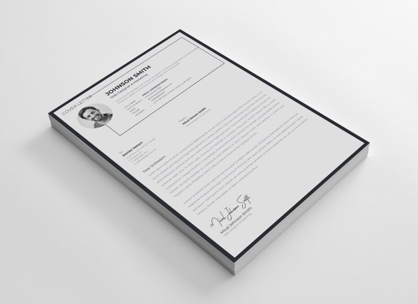 A4 Stylish Resume Template