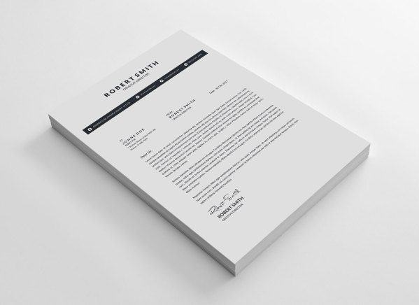 Classy Vector Resume Template