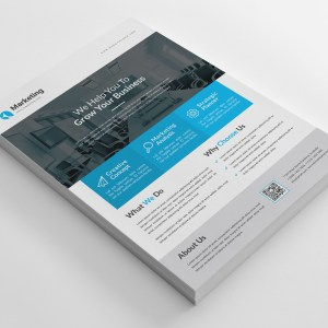 Classy Business PSD Flyer Templates
