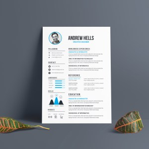 EPS Professional CV Template