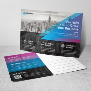 PSD Corporate Postcard