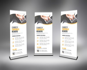 PSD Business Roll-Up Template