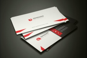 PSD Minimalist Business Cards