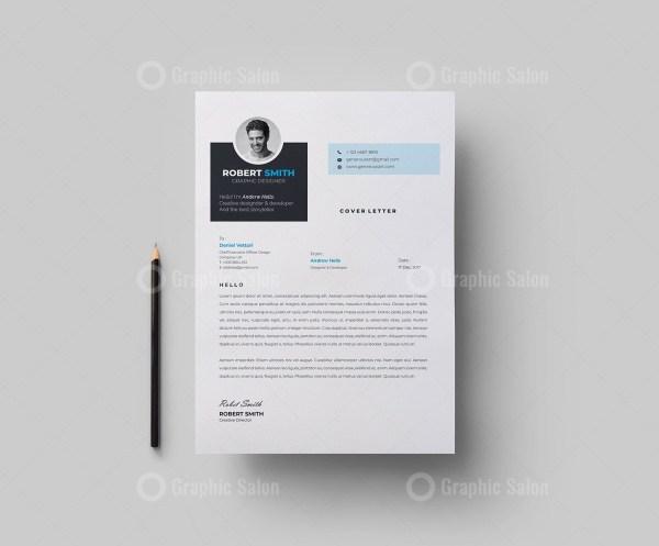Elegant Vector Resume CV Design
