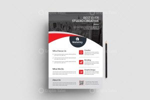 PSD Corporate Flyers