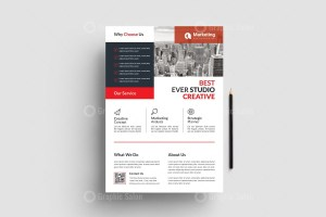 PSD Minimal Business Flyer Templates