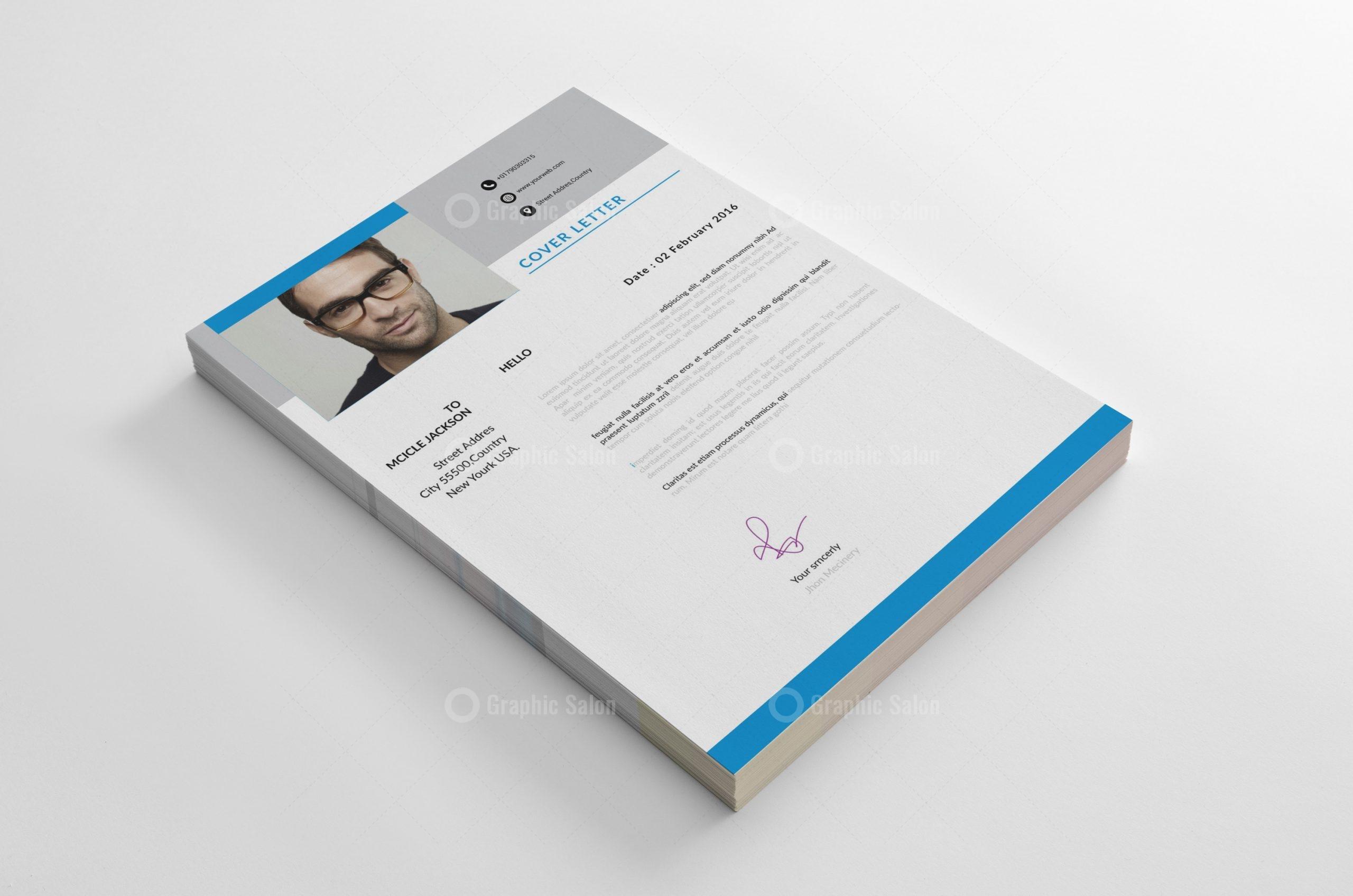 Creative Resume Cv Template Graphic Templates