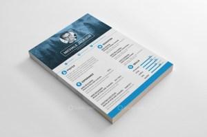 Photographer Resume CV Design