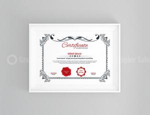 Classic Certificate Design