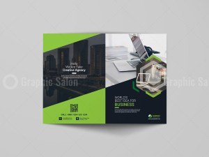 Bi-Fold Booklet Template