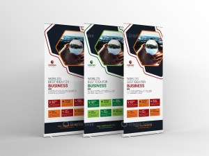 Creative Standee Banner Template