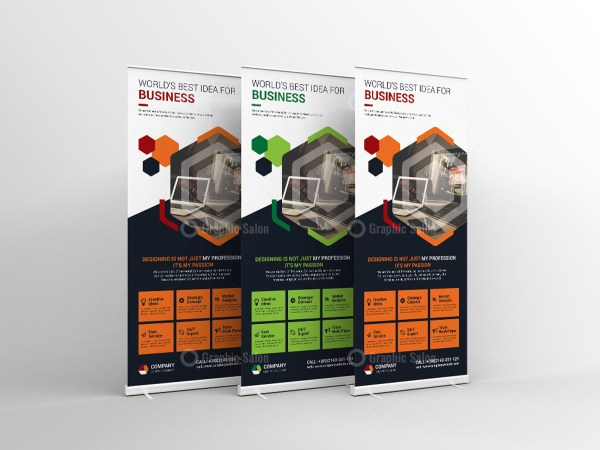 Classic Roll-Up Banner Template