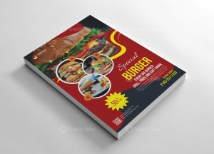Creative Food Flyer Template