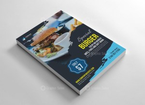 Fast Food Flyer Design