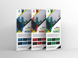 Minimalist Roll-Up Banner Template