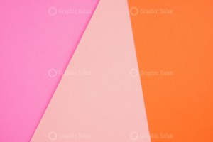 Pastel colored paper flat lay top view