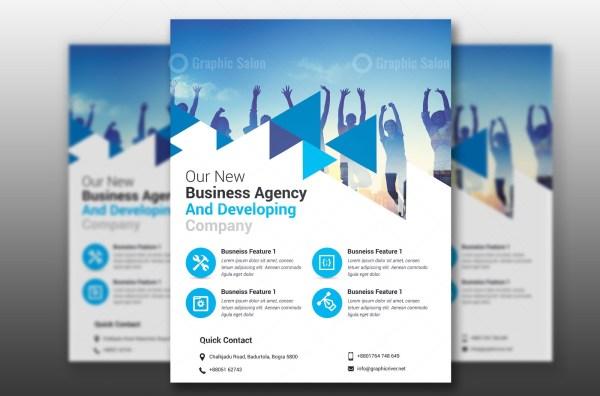 PSD Elegant Business Flyer