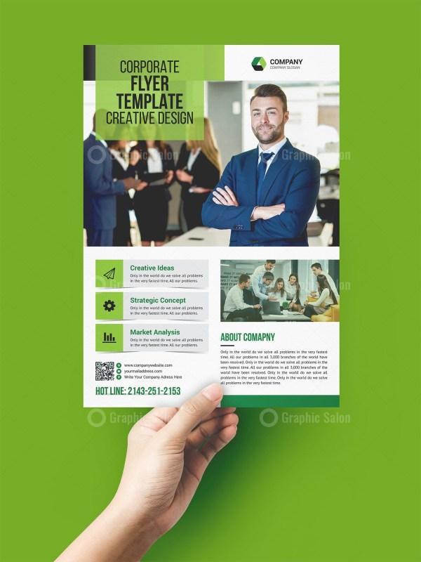 Job Print Flyer Template