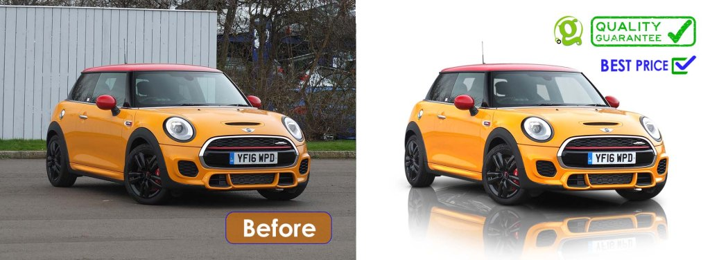 vehicle photo editing service