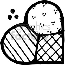 heart quilt black white clipart Commercial use GIF JPG PNG EPS SVG AI PDF clipart # 407517 Graphics Factory