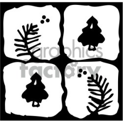 black white quilt block vector image clipart Commercial use GIF JPG PNG EPS SVG AI PDF clipart # 405223 Graphics Factory