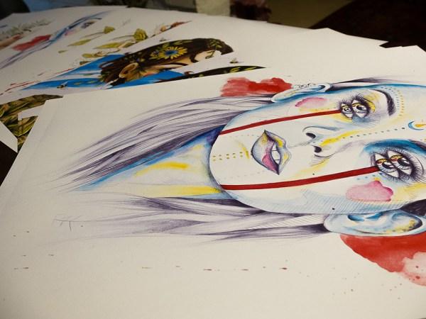 posters uniques artiste peintre