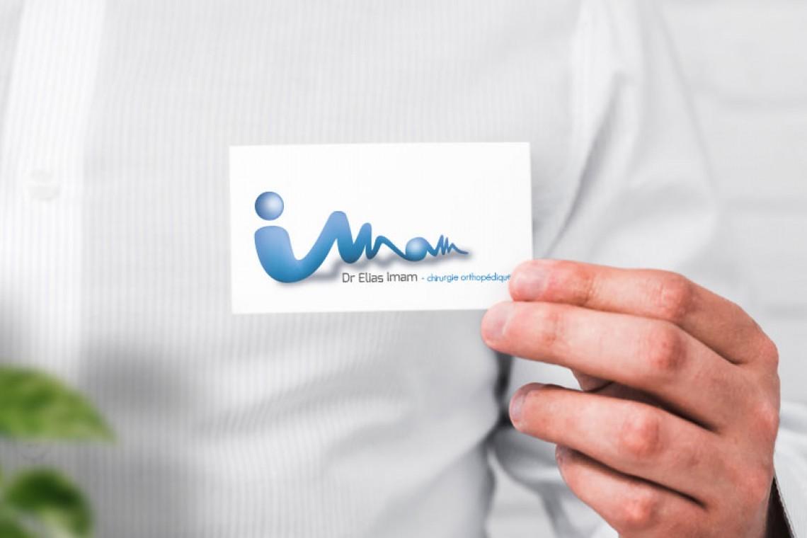 création carte de visite et logo signature