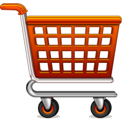 shopping cart icon psd icons bag graphicsfuel preview