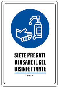 segnaletica lavarsi mani